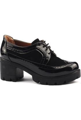 Ayakland 965 Günlük Bayan Bağcıklı Ayakkabı