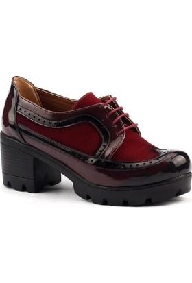 Classy 518 Günlük Bayan Rugan Ayakkabı