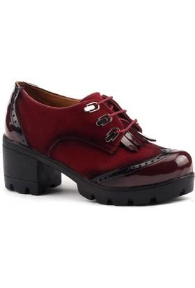 Classy 965 Günlük Bayan Bağcıklı Ayakkabı