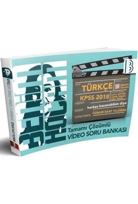 2018 Kpss Türkçe Tamamı Çözümlü Video Soru Bankası