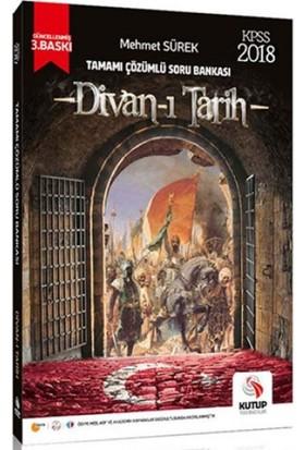 Kutup Yayıncılık 2018 Kpss Divan-I Tarih Tamamı Çözümlü Soru Bankası