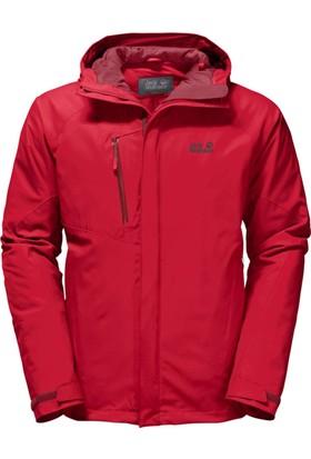 Jack Wolfskin Kırmızı Erkek Outdoor Mont 1106901-2505