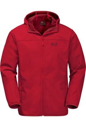 Jack Wolfskin Kırmızı Erkek Outdoor Mont 1304001-2505