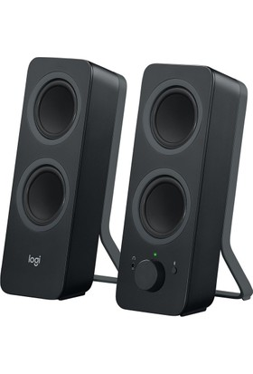 Logitech Z207 Bluetooth PC Speakers Black