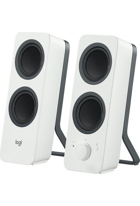 Logitech Z207 Bluetooth PC Speakers White