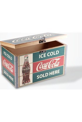 Coca-Cola Ahşap Kutu