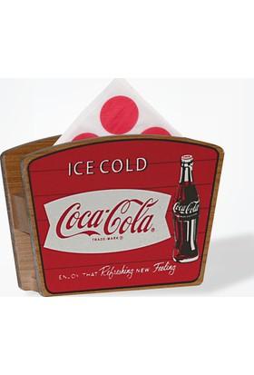 Coca-Cola Dekoratif Ahşap Peçetelik