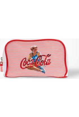 Coca-Cola Makyaj Çantası