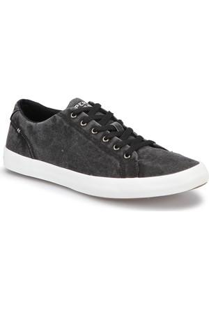Sperry Top-Sider Sider Wahoo Ltt Siyah Erkek Sneaker Ayakkabı
