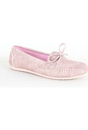 Demir 311 Bayan Günlük Babet Ayakkabı Pudra