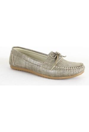 Demir 311 Bayan Günlük Babet Ayakkabı Vizon