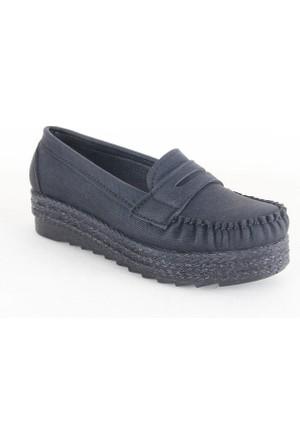 Demir 60 Bayan Babet Ayakkabı Siyah