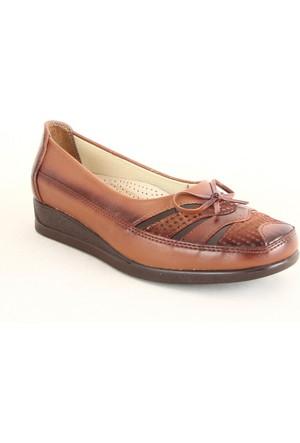 Norfix 131 Poli Taban Anne Günlük Ayakkabı Taba