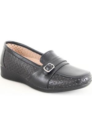 Norfix 566 Poli Taban Anne Günlük Ayakkabı Siyah