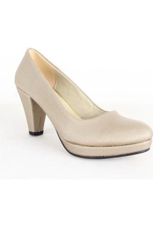 Treks Tecer 104 Bayan Dopuklu Ayakkabı Dore