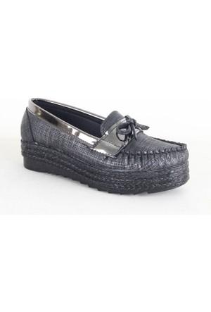 Demir 1003 Günlük Bayan Ayakkabı Siyah
