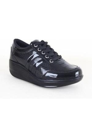 All Force Rugan Bayan Ayakkabı Siyah