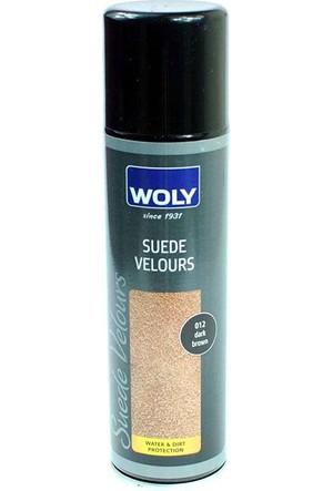 Woly 250 Ml Suet & Nubuk Koyu Kahverengi Ayakkabı Boyası Bakım Ürünü