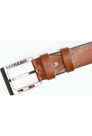 U.S. Polo Assn. Erkek Y7As001 Kemer Kahverengi