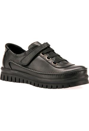 Ziya Kadın Hakiki Deri Ayakkabı 7333 Gr130