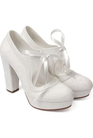 Gön Kadın Gelinlik Ayakkabı 45606