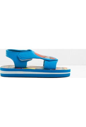 Koton Erkek Çocuk Spiderman Baskılı Sandalet Mavi