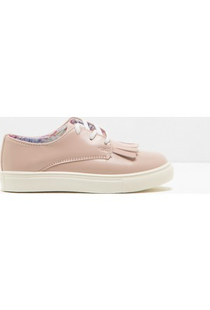 Koton Kız Çocuk Bağcıklı Ayakkabı Pembe