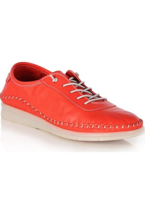 Dr. Pepper Günlük Konfor Bayan Ayakkabı Kırmızı