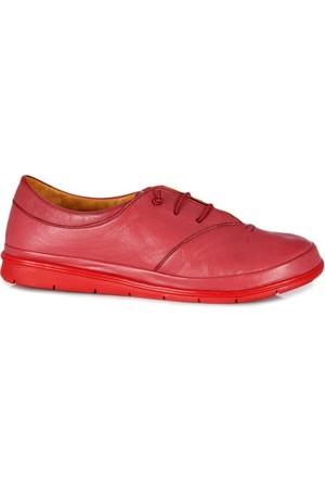 Dr. Pepper Günlük Konfor Bayan Ayakkabı Bordo