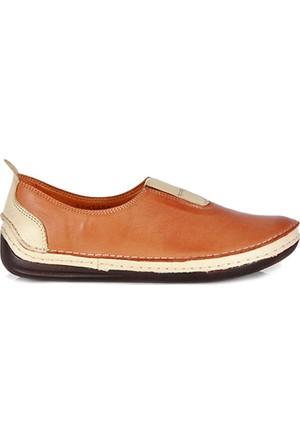 Dr. Pepper Konfor Bayan Ayakkabı Modeli Taba/Bej