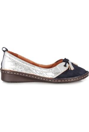 Dr. Pepper Günlük Konfor Bayan Ayakkabı Gümüş Süet