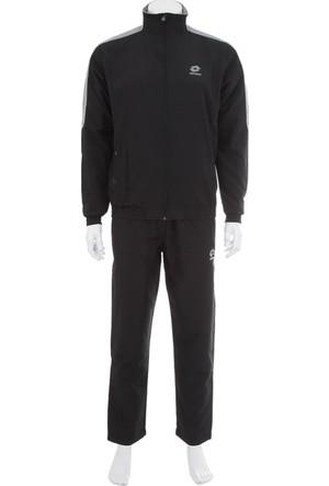 Lotto Ln1914 Suit Molton Mi Erkek Eşofman Siyah