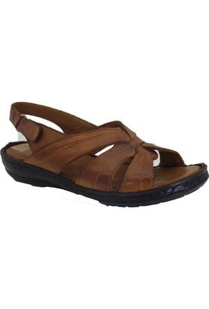 Despina Vandi Yvzr A1821 Günlük Kadın Deri Sandalet