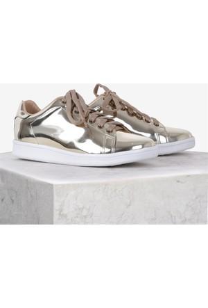 İlvi Magic 3162 Sneakers Ayakkabı Altın Ayna