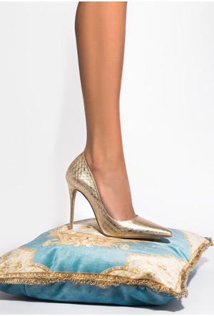 İlvi Rocio 1039 Stiletto Altın Desing