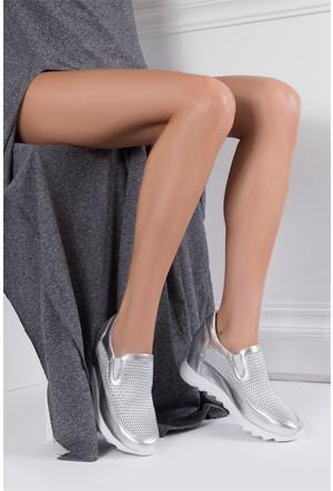 İlvi Yano 0752 Spor Ayakkabı Lame Deri