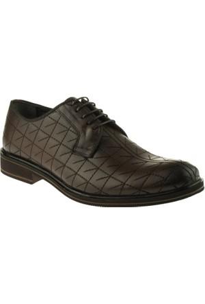 Alisolmaz 1232 Bağlı Klasik Kahverengi Erkek Ayakkabı