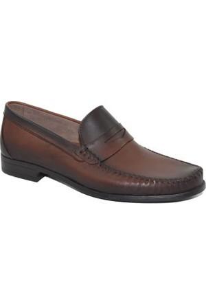Punto 617013 Erkek Hakiki Deri Ayakkabı