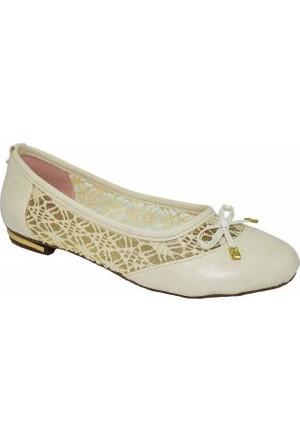 Belinda 01 Bayan Tül Babet Ayakkabı