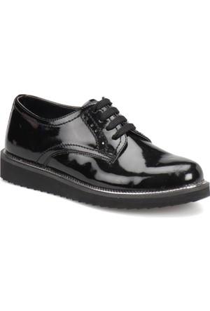 Butigo Z207 Siyah Kadın Maskulen Ayakkabı