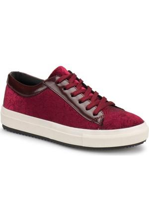 Butigo Z214 Bordo Kadın Ayakkabı