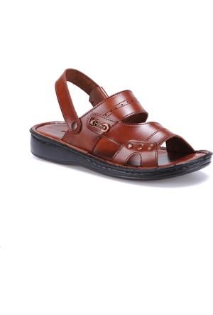 Flexall 15 M 1625 Kahverengi Erkek Sandalet