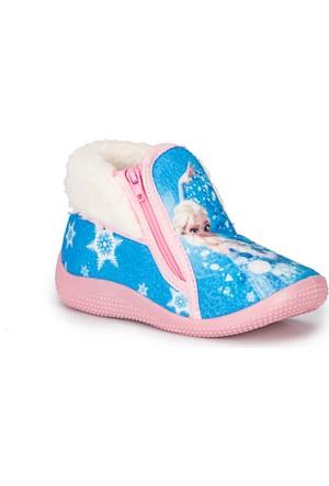 Frozen Amelia-1 Mavi Kız Çocuk Panduf