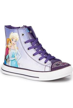 Frozen Mely Lila Kız Çocuk Bot