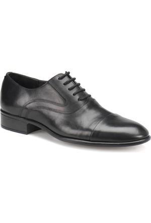 Garamond 1018 Siyah Erkek Deri Ayakkabı
