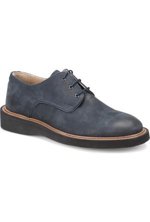 Garamond 2495 Lacivert Erkek Deri Ayakkabı