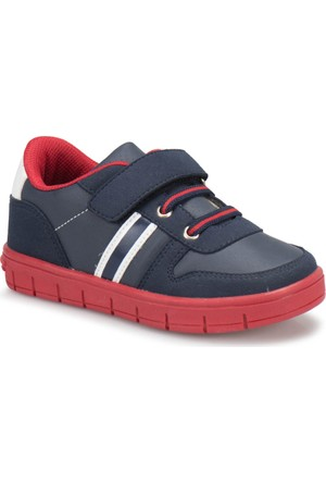 İ Cool Bomb 2 Lacivert Beyaz Kırmızı Erkek Çocuk Ayakkabı