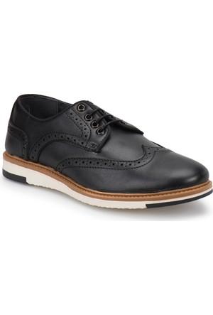 Jj-Stiller 51066-1 Siyah Erkek Ayakkabı