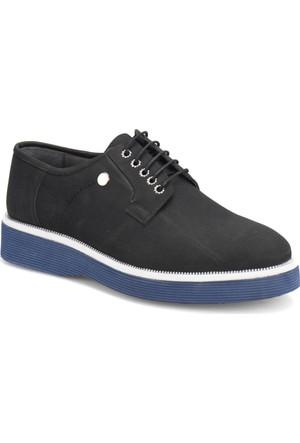 Jj-Stiller 690-1 Siyah Erkek Ayakkabı