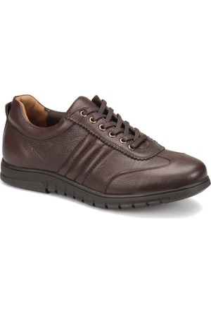 Kinetix Berta Kahverengi Erkek Deri Ayakkabı
